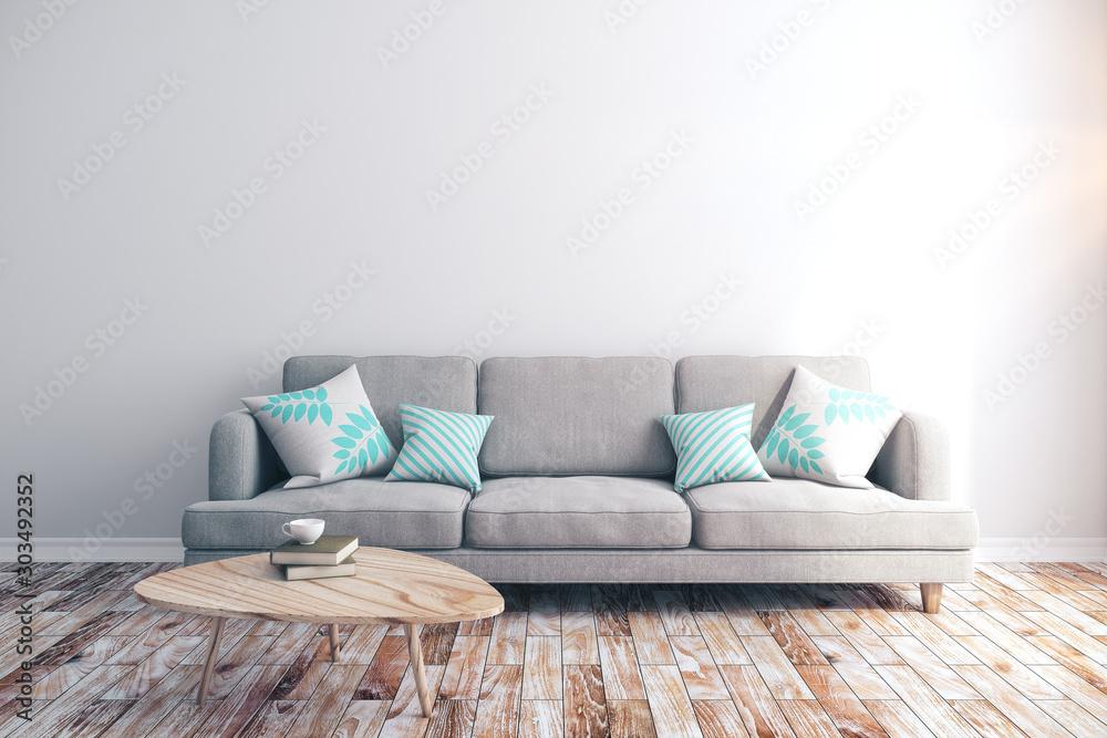 Fototapeta Modern living room