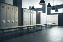 Contemporary Locker Room
