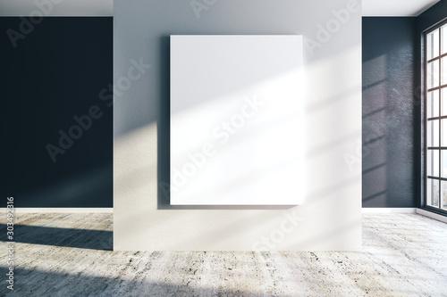 Fotografie, Obraz Contemporary concrete interior