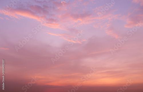 Obraz Cloud sky in heaven as background - fototapety do salonu