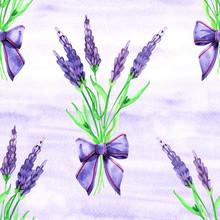 Gentle Watercolor Floral Laven...