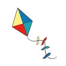 Colorful Kite In The Sky