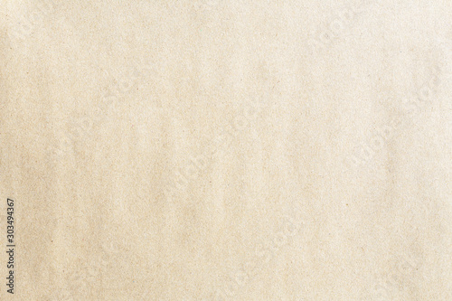 Foto  Old brown kraft background paper texture