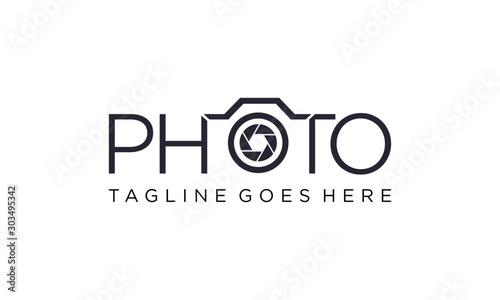 Fototapeta  Creative camera for photography logo ideas