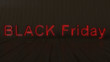 canvas print picture Black Friday sale background