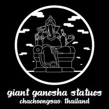 Circle Icon Line Giant Ganesha...