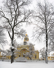 Saint-Petersburg. Peter And Paul Fortress. Grand Ducal Burial Vault.