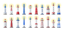 Sea Lighthouse Vector Cartoon ...