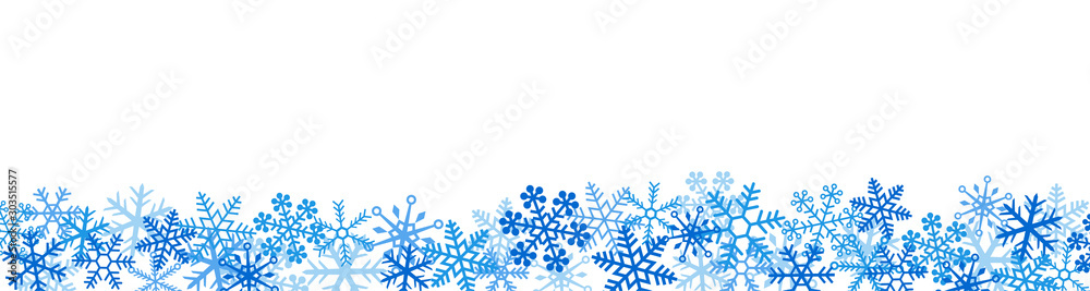 Fototapeta 雪の結晶 スノーフレーク