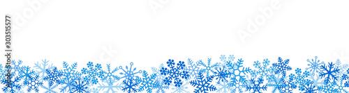 雪の結晶 スノーフレーク Fototapet
