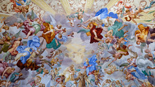 Foto Di Un Affresco Scattata Al Sacro Monte Di Orta.
