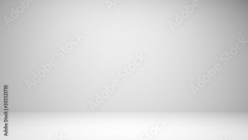 Abstract luxury gradient background used for display product ad and website template, 3D illustration Wallpaper Mural
