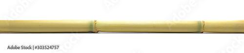 Canvastavla Bamboo stick isolated on white background