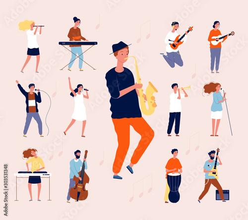 Fényképezés Music persons