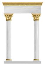 Golden Marble Arch Portal Baro...