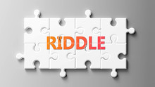 Riddle Complex Like A Puzzle -...