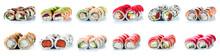 Sushi Rolls Set, Maki, Philade...