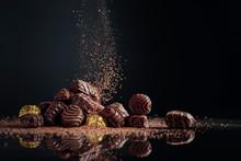 Chocolate Candies Sprinkled Wi...