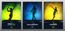 Set Of Tennis Championship Ban...
