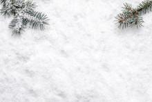 Christmas White Background Wit...