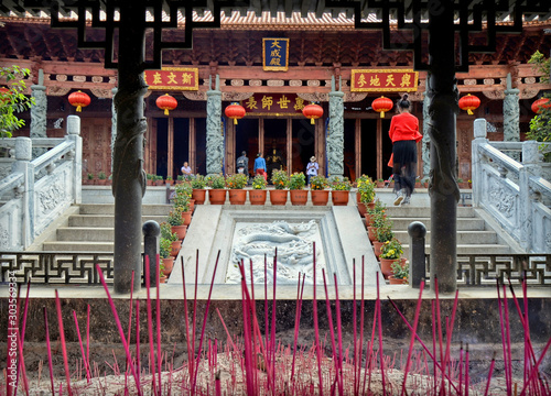 Dali Confucian Temple (Dali Cultural Center) Canvas-taulu