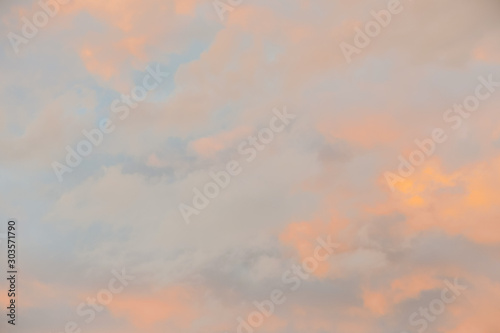 Fototapety, obrazy: sky with clouds, digital picture taken in Italy, Europe