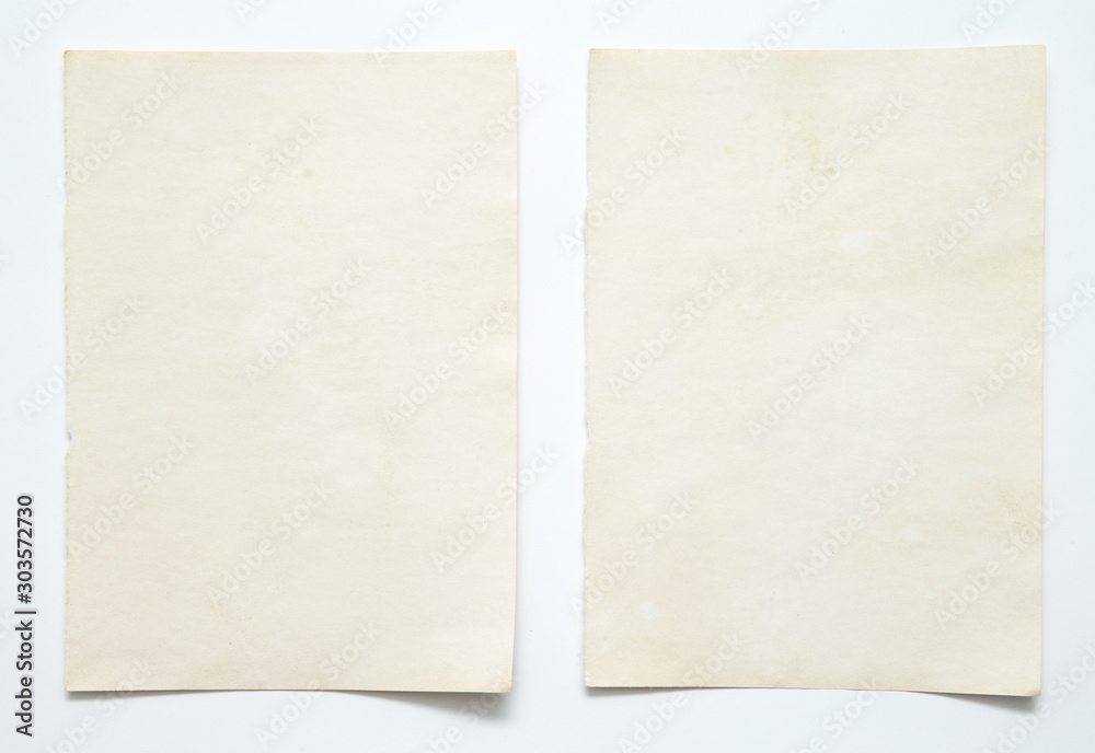 Fototapety, obrazy: note paper on white background