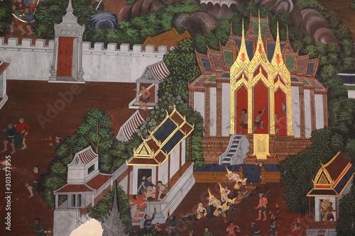 Fototapety, obrazy: statue of buddha