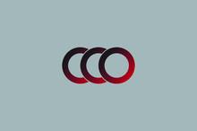 Amazing Letter CCO Logo Vector