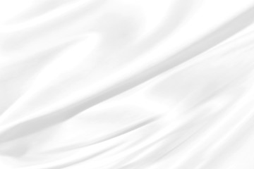 abstract white fabric curve design modern shape wave style background