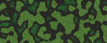 3d Material Green Snake Pattern