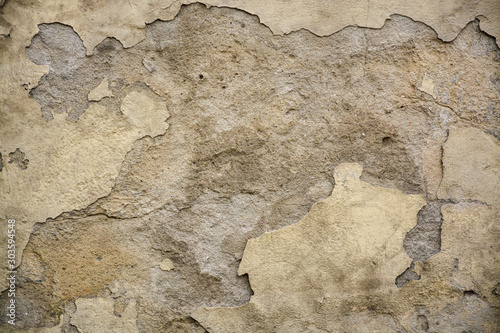 Deurstickers Oude vuile getextureerde muur Beautiful vintage background. Abstract grunge decorative stucco wall texture.