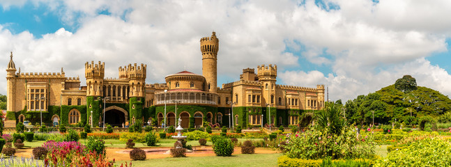 Bangalore Palace is a palace located in Bangalore, Karnataka, India.