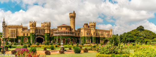 Leinwand Poster Bangalore Palace is a palace located in Bangalore, Karnataka, India