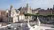 View from the Altare della Patria. Rome, Italy.