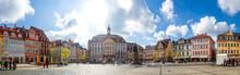 Marktplatz, Rathaus, Coburg, B...