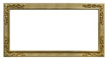 Panoramic Golden Frame For Pai...