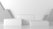 White Cube, Square Box Podium ...