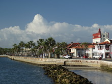Sea Wall And Waterfront Street...