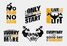 Everyday No Pain No Gain Worko...
