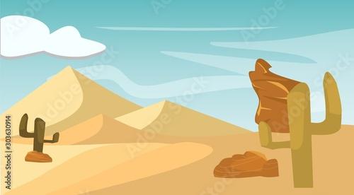 Desierto Canvas Print