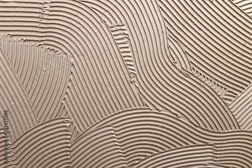 Obraz Fliesen kleben  - fototapety do salonu