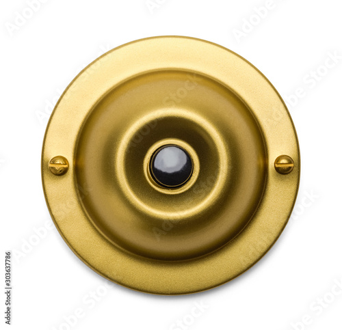 Valokuva Brass Doorbell