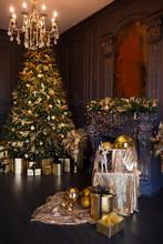 Interior Of Luxury Modern Livi...
