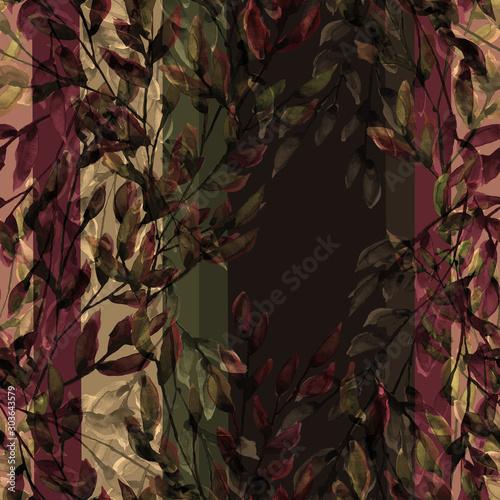 akwarela-wzor-kwiaty