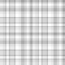 Seamless Multicolored Pattern. Checkered Texture Of The Surface. Black And White Illustration