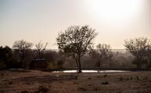 Sundown Over Sabi Sabi, Kruger Nationalpark, South Africa