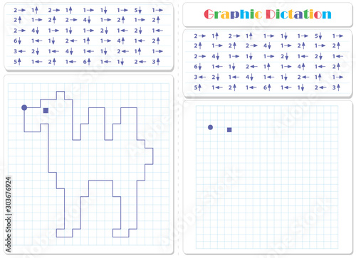 Foto Draw a picture on the arrows. Worksheet for kids