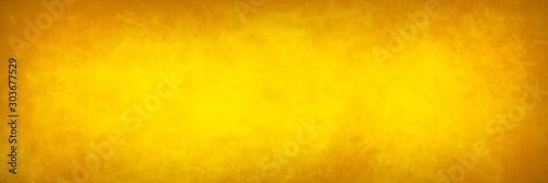 Fototapeta Brown orange yellow paper splash texture banner obraz