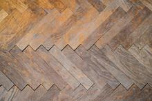 Old Tiled Wooden Floor - Parqu...
